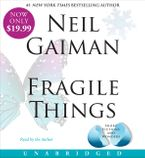 Fragile Things Low Price CD CD-Audio UBR by Neil Gaiman