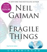 Fragile Things Low Price CD