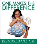 One Makes the Difference eBook  by Julia Hill