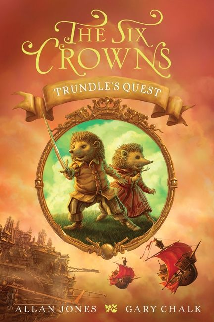 Simple Book Cover Quest : The six crowns trundle s quest allan jones hardcover