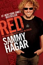 Red Hardcover  by Sammy Hagar