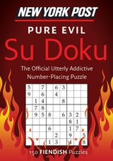 New York Post Pure Evil Su Doku