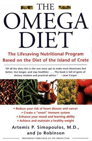 The Omega Diet Artemis P Simopoulos E Book