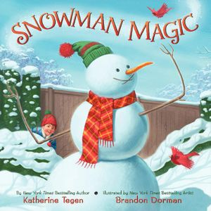 Snowman Magic book image