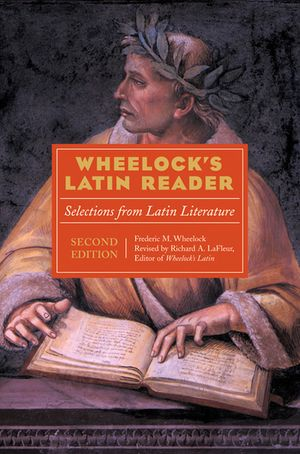 Wheelock's Latin Reader book image