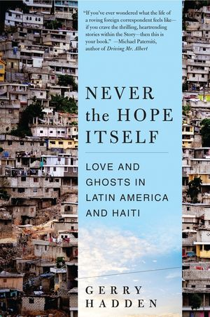 Never the Hope Itself book image