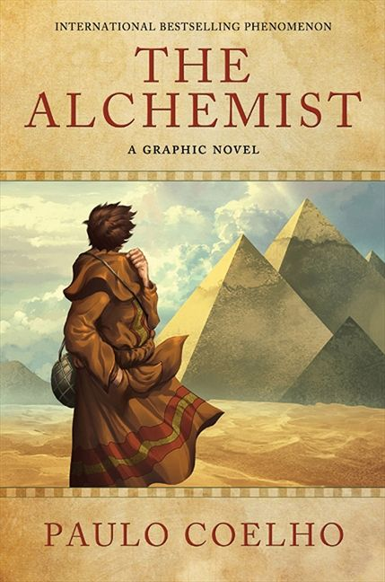 Image result for the alchemist paulo coelho cover