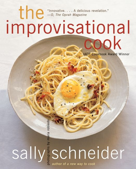 The improvisational cook sally schneider paperback enlarge book cover fandeluxe Image collections