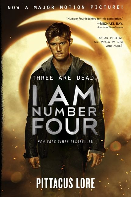 I Am Number Four Movie Tie-in Edition - Pittacus Lore - Hardcover 9ec5c2eaf2b4