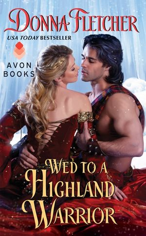 Wed to a Highland Warrior book image