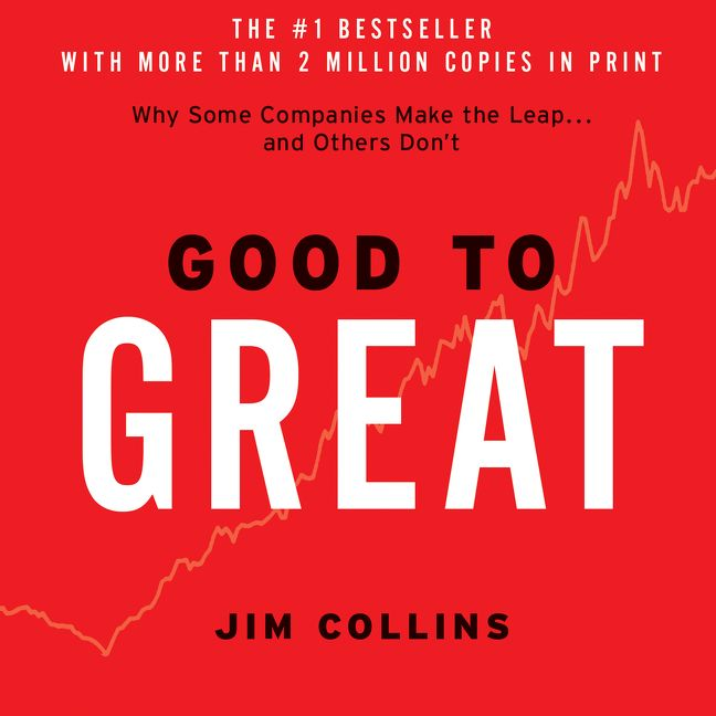 book report on good to great by jim collins Most popular business books of all time – good to great why good to great isn't very good be a good thing, but if jim collins can't.