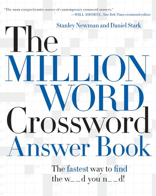 The Million Word Crossword Answer Book Stanley Newman E Book