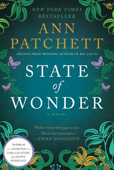 "state of wonder ann patchet essay This 52-page guide for ""state of wonder"" by ann patchett includes detailed chapter summaries and analysis covering 11 chapters essay topics state of wonder."