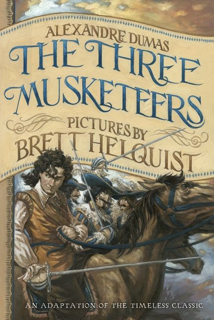 Illustrated Book Cover Questions : The three musketeers illustrated young readers edition