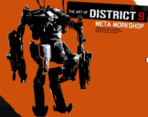 The Art of District 9 book image