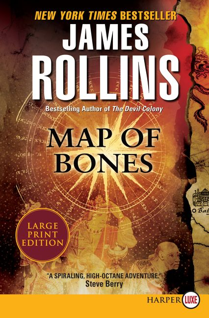 Map Of Bones Map of Bones   James Rollins   Paperback