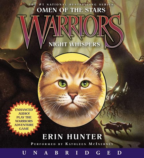 Warriors Erin Hunter Book Review: Warriors: Omen Of The Stars #3: Night Whispers
