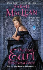 One Good Earl Deserves a Lover Paperback  by Sarah MacLean