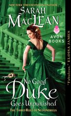 No Good Duke Goes Unpunished Paperback  by Sarah MacLean