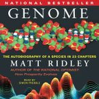Genome Downloadable audio file UBR by Matt Ridley