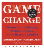 Game Change Low Price CD-Audio UBR by John Heilemann