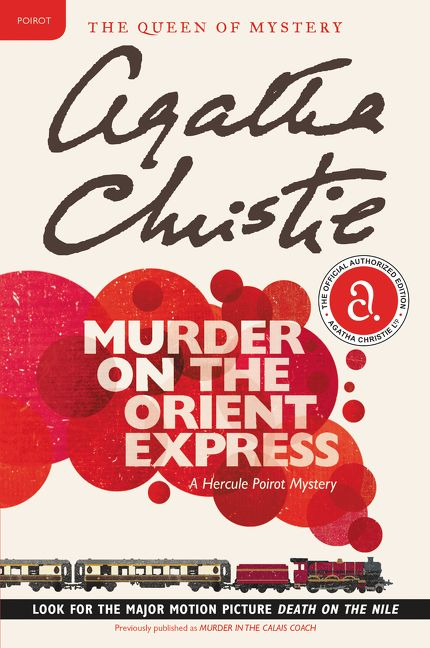 Image result for murder on the orient express book cover