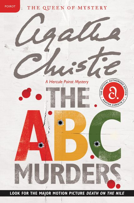 The abc murders agatha christie paperback enlarge book cover movie poster fandeluxe Choice Image