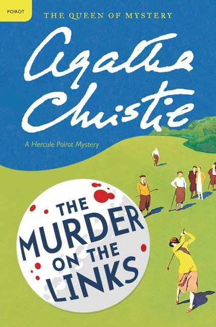 Image result for the murder on the links book cover