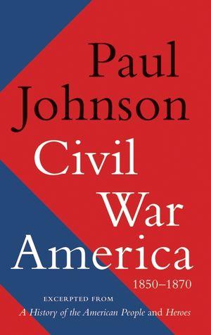 Civil War America book image
