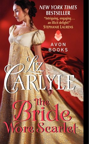 The Bride Wore Scarlet book image