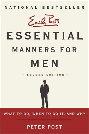 Essential Manners for Men 2nd Ed book image