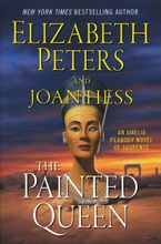 The Painted Queen Hardcover  by Elizabeth Peters