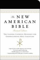 New American Bible (Black Imitation Leather)