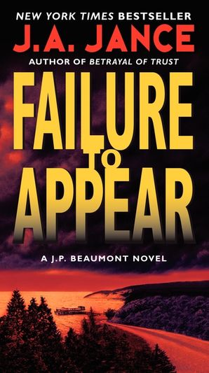 Failure to Appear Paperback  by J. Jance