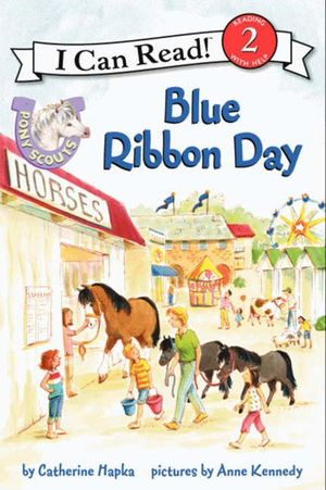 Pony Scouts: Blue Ribbon Day book image