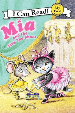 Mia and the Tiny Toe Shoes book image