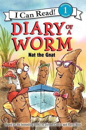 Diary of a Worm: Nat the Gnat book image