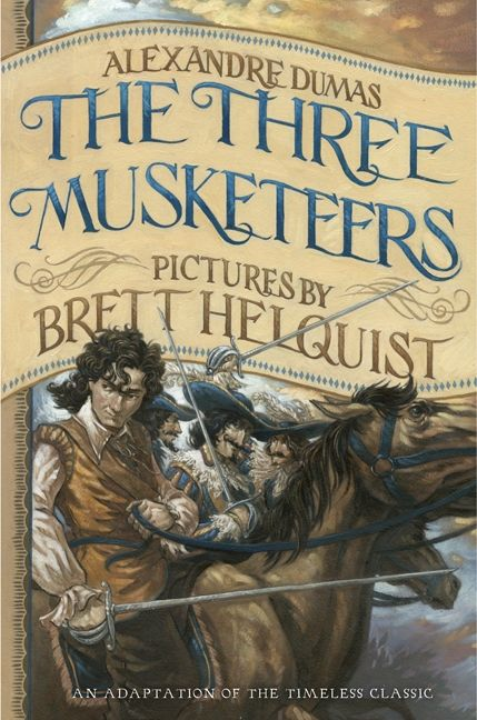 Illustrated Book Cover Names : The three musketeers illustrated young readers edition