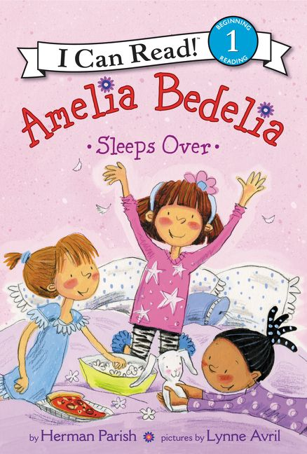 Amelia Bedelia Sleeps Over Herman Parish Paperback