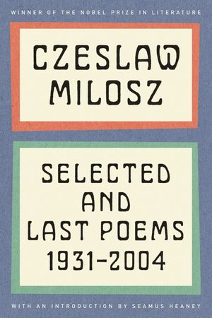 Selected and Last Poems book image