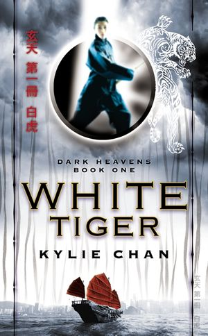 White Tiger book image