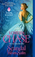 Scandal Wears Satin Paperback  by Loretta Chase