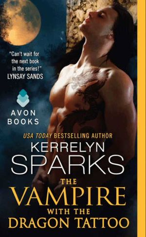The Vampire With the Dragon Tattoo book image