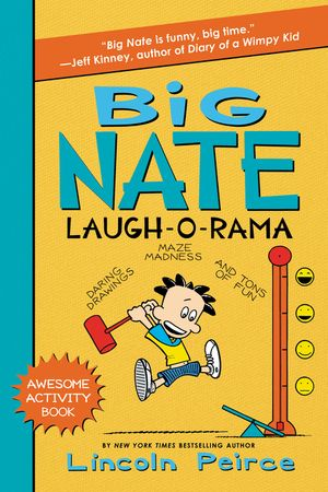 Big Nate Laugh-O-Rama book image