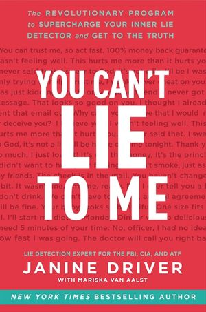 You Can't Lie to Me book image