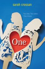 One Hardcover  by Sarah Crossan