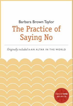 The Practice of Saying No book image