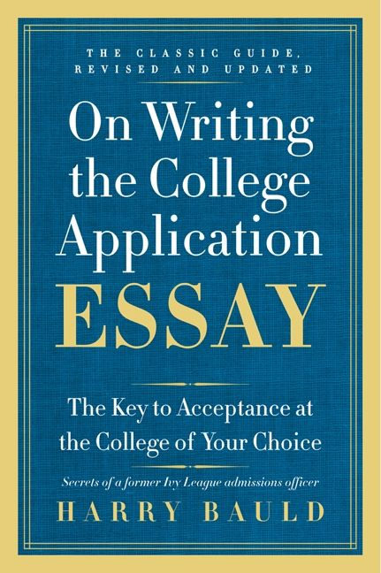 How to write a high school application essay book