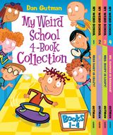 My Weird School 4-Book Collection with Bonus Material