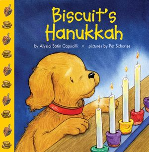 Biscuit's Hanukkah book image